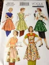*NEW APRONS VOGUE Sewing Pattern 8-10-12-14-16-18-20 UNCUT