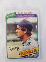 1980 Topps George Brett #450 Kansas City Royals HOF