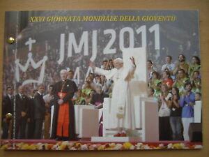 """Numisbrief VATIKAN 2011 """"zum 26. Weltjugendtag"""" in Spanien"""