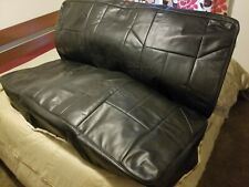 1964 -1966 GM A Body Genuine Leather Rear Bench Seat Covers