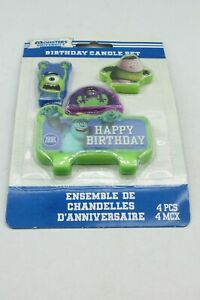 Monsters Inc. Monsters University Themed Birthday Candle Set Any Age