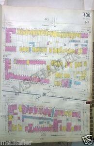 Rare 1931 Newark New Jersey NJ  Essex Catholic School Sanborn Map Atlas 18 x 27
