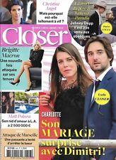 CLOSER n°643 06/10/2017 Charlotte Casiraghi_Brigitte Macron_Angot_Pokora_Paradis