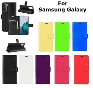 Wallet Leather Flip Protective Case Cover for Galaxy S20 S21 S10 S9 S8 S21+Ultra
