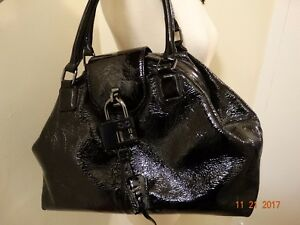 NWOT (UNIQUE) Monika Chiang Patent Leather Shoulder Bag / Hobo