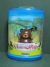 Micropets KUMA Bear figurine ours animal jouet interactif TOMY