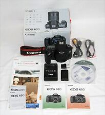 Canon EOS 60d camera body with original box and accessories #42