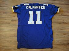 DAUNTE CULPEPPER GAME USED WORN 2003 MINNESOTA VIKINGS SIGNED JERSEY CERTIFIED