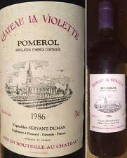 Château La VIOLETTE 1986 Pomerol Grand Vin