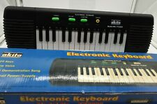 Electronic Keyboard Akita Working Condition (Tested) 6V Power Cable Or Batteries