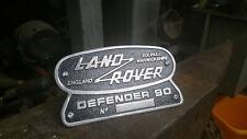 Badge for Land Rover Defender 90 Heritage Solihull Warwickshire OEM 332670