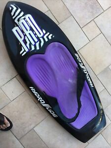 VINTAGE  PRO HYDROSLIDE  Board Black Purple Zebra FREE PICK UP
