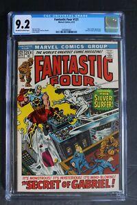 FANTASTIC FOUR #121 Silver Surfer & Gabriel Heralds of Galactus 1972 CGC NM- 9.2