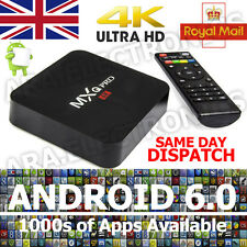 2017 MXQ PRO Quad Core 4K Smart TV Box Android 6.0 NEW 16.1 Movies Media Player