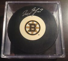 Boston Bruins Milan Lucic Signed Puck - Sports Images Authenticated