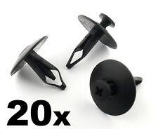 20 Ford DADI CONO Paraurti, Griglia Radiatore & Copertura in plastica Trim Clips - 6mm foro, Scrivet