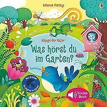 Klänge der Natur: Was hörst du im Garten? von Taplin, Sam | Buch | Zustand gut