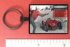 Strombecker Slot Car Metal Key Ring
