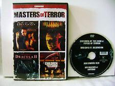 Masters of Terror (DVD,2011) 4 MOVIES ON 1 DISC, JAMIE LEE CURTIS, DOUG BRADLEY,