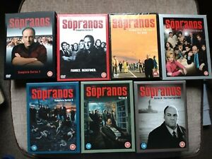 THE SOPRANOS The Complete Series DVD Box Set mint condition watched once uk