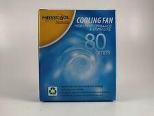 MASCOOL FD08025S1M3/4 Cooling Fan Sleeve Bearing 80x80x25mm 12V 3 pins/4 pins