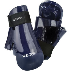 Century Martial Arts Student Hook and Loop Sparring Gloves - XL - Blue