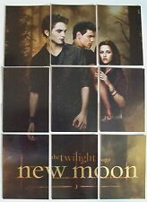 Twilight Saga New Moon Set of 9 Trading Cards The Trio Puzzle Edward Bella Jacob