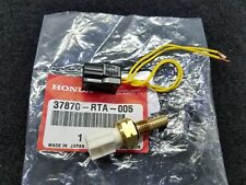 NEW GENUINE HONDA COOLANT TEMP SENSOR WITH CONNECTOR 37870-RTA-005