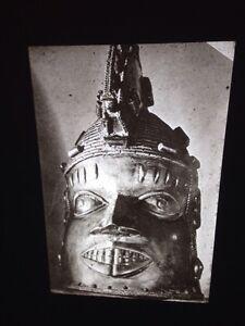Benin Odudua Mask (Front View): African Tribal Art Vintage 35mm Slide