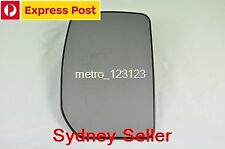 RIGHT DRIVER SIDE FORD TRANSIT MK6/MK7 2000-2013 MIRROR GLASS WITH BACK PLATE