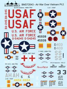 Air War Vietnam Pt:2 1/72nd scale decals