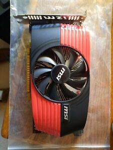 MSI GTS 450 video card
