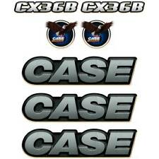 Case CX36B Decals Stickers Kit Repro Decal set