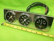 "STEWART WARNER 2-5/8"" Mechanical Gauges SCTA Hot Rat Rod"