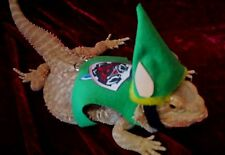 Lil' Bestie Bearded Dragon reptile Harness and Leash Link Zelda shield sword