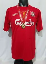 Liverpool Champion League final 2005 home shirt jersey Istanbul 2004 2006 MEDAL