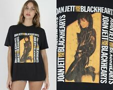 Vtg 80s Joan Jett And The Blackhearts Concert Tour Punk Rock Band Tee T Shirt