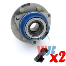 Pack of 2 Rear Wheel Hub Bearing Assembly replace 512243 HA590079 BR930458