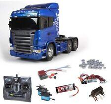 Tamiya Scania R620 6x4 Highline Blue Komplettset + LED, Kugellager - 56327SET2
