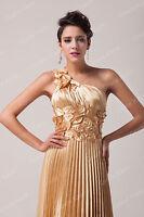 de Luxe Longue robe soirée Cocktail bal fête doré Lace-Up officiellement élégant