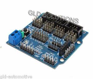 Sensor Shield per Arduino collega moduli come Sensori Servi Relè Potenziometri