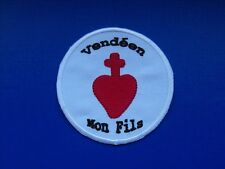 écusson insigne tissu patch religieux Scoutisme Vendéen Mon Fils Chouan Vendée
