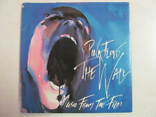 """PINK FLOYD MUSIC FROM FILM PROMO 7"""" 45 SONGS FROM WALL FINAL CUT LP's PIC SLEEVE"""