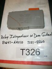 TESTED 2001 Toyota Camry RELAY INTEGRATION MULTIPLEX w Door Control 82641-AA010