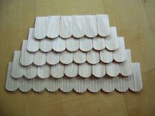 200 Stk. Holzschindeln/Dachschindeln von Hand gespalten Lärche 20x10 mm