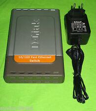 D-LINK des-1008d ees1008de 10/100 Fast Ethernet Switch 8x rj-45