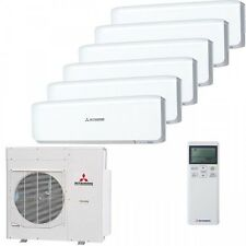 MITSUBISHI Split Air Conditioner 2xsrk20 | 4xsrk25 | 1xscm125 | 14kw Cooling/Heating 14kw