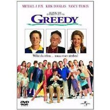 GREEDY -DVD NEUWARE MICHAEL J.FOX,KIRK DOUGLAS,NANCY TRAVIS