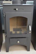 Wood Burning Stove Top Flue 5-7 kW Fireplace Wood/Coal Solid Fuel Log Burner