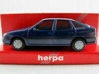 Herpa 2073 Opel Vectra A GL Fließheck (1989-1992) in stahlblau 1:87/H0 NEU/OVP